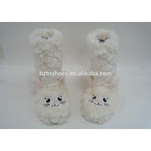 Китай оптовый крытый мех тапочки загрузки животных сапоги для детей PV плюш овец домашний ботинок