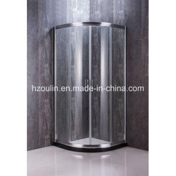 Douche avec gros aluminium