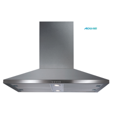 Chimney Island Extractor with 2 LED Lamps