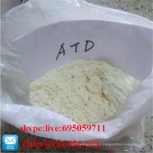 Stéroïdes Prohormones Atd / 1, 4, 6-Androstatriene-3, 17-Dione CAS 633-35-2 pour le supplément de bodybuilding