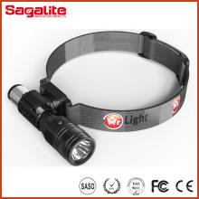 Multifuncional de alta potência 2 em 1 XPE LED CREE Headlamp