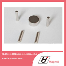 Manufacturer High Power Strong N35-52 Neodymium Disc Magnet with ISO9001 Ts16949