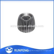 Radiateur en aluminium de haute qualité de moulage mécanique sous pression LED