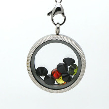 Living locket with decorative patten design