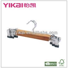 Cinturon d'affichage en bambou naturel pour chemise