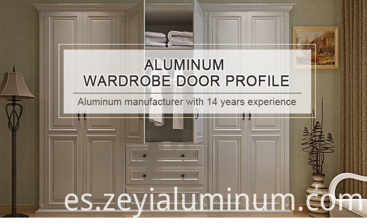 Wardrobe Door Aluminum Profile