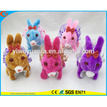 Novelty Design Active Walking Barking Electric Stuffed Rabbit