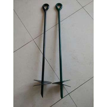 Powder coated Ground Anchor pile