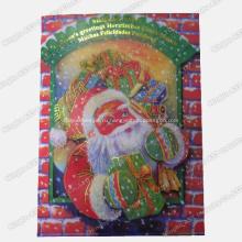 Всплывающая поздравительная открытка, печать карточек, музыкальная поздравительная открытка