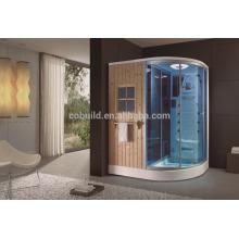 K-705 comercio garantía foshan encierran masaje fino bañera de hidromasaje sala de ducha de sauna de vapor