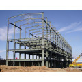 Construção de construção de estrutura de aço