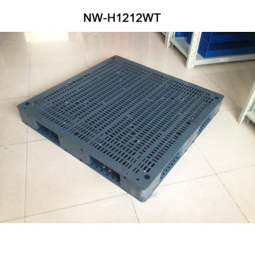 Cheap Injection Plastic Modling Type Hige Quality Brown Plastic Pallet 1200*1200*150mm