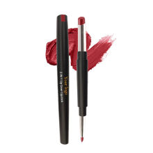 2021 Hot Sell Best Quality Custom Logo High Pigment Private Label Matte 2 in 1 Lip Stick and Lip Liner
