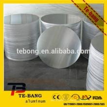 Chine 1xxx, 3xxx, feuille ronde en aluminium 5xxx