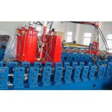 Máquina formadora de obturador de espuma de aluminio