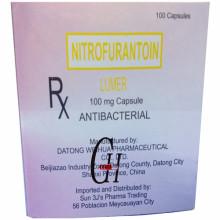 Capsules de nitrofurantoïne 100 mg