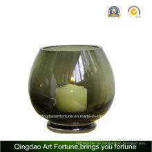 Runde Glasschale für Kerzenhalter Hersteller