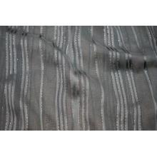Tecido Dobby Viscose 50D Filament Lurex Stripe Yoryu
