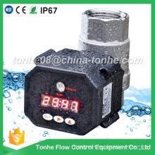 """1 """"pulgada de control de tiempo de acero inoxidable de drenaje automático de la válvula de agua"""