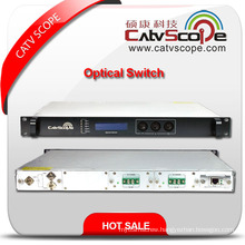 Professional Supplier 2X1 High Performance Fiber Optical Switch