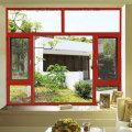 Fenêtre en aluminium à double vitrage Feelingtop avec moustiquaire (FT-W108)