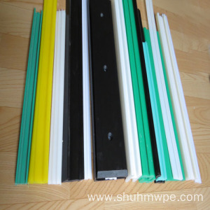 UHMWPE chain guide rail