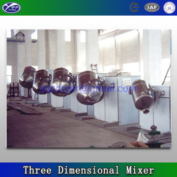 Three dimensional Mixing machine