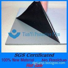 Non Residue black and white film for ACP/PVC Panel