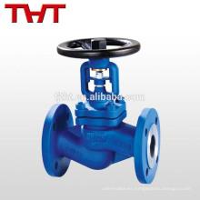 Válvula de globo de fuelle de fundición DIN