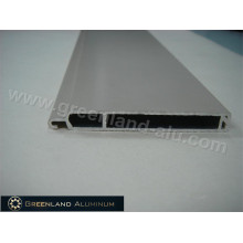 Lamina de forma plana para puerta de persiana enrollable en perfil de aluminio