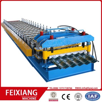Glazed Tile Roof Sheet Roll Forming Machinery