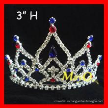 Tiara patriótica del desfile del nuevo diseño de la belleza, tamaños disponibles