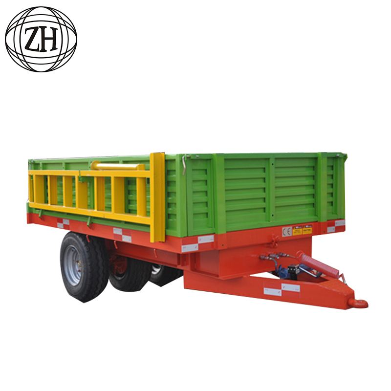Agricultural Machinery Small Farm Tractor Tipper Trailer