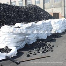 Brennstoffqualität hochwertiger Gießereikoks, der in Metallschmelzanlagen verwendet wird