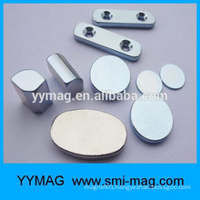 Large powerful magnetic material disc neodymium magnets