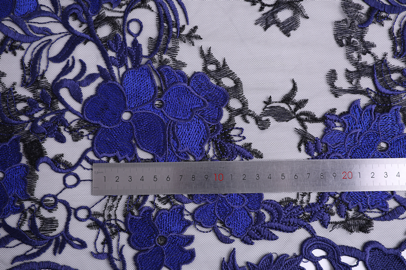 Two Tone Embroidery Fabric