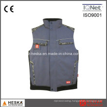 Custom Windproof Waterproof Multi Pocket Work Vest