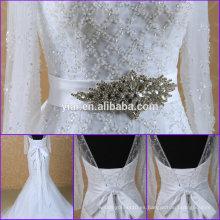 BB0001 correa de la boda correa cristalina del rhinestone para la correa del vestido de boda
