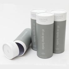 Cilindro redondo de papel de cosméticos de alta calidad