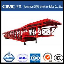 Cimc 2 ou 3 Eixo 12 Car Carrier Trailer
