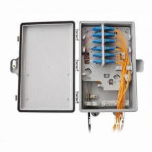 24 FO FTTH Fiber-optic Termination Box, Easy Installation, Lock Provided for Extra Security