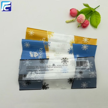 Custom logo plastic popsicle ice pop bag packaging