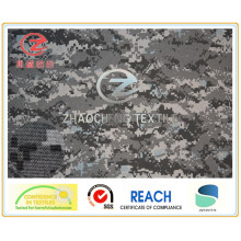 500d Nylon Cordura Printing Coated PU pour usage militaire (ZCBP002)