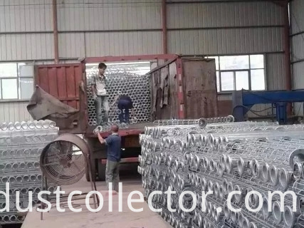Stainless steel dust removal skeleton