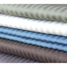 Tissu à empiler et à doublure de vêtement à chevrons