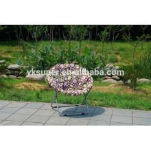 Cadeira de lua redonda giratória popular para crianças cadeiras de lua de venda quente para lazer ao ar livre