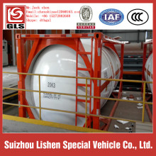 ISO9001 Certification and Tank Container Type lpg iso tank container