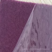 Film-Coated Ausstellung Teppich mit Schutz Plastikfolie