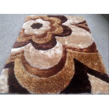2015 3D Silk Polyester Carpet for Bedroom
