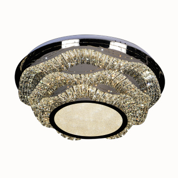 Wholesale K9 crystal modern ceiling led lamp